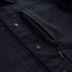 Blake Cycling Trucker Jacket in Midnight - small view.