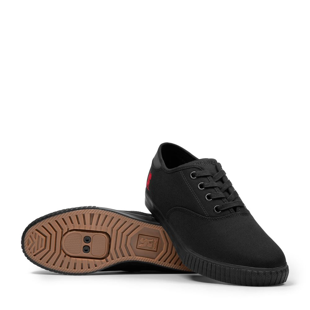 Truk Pro Bike Shoe in Black / Black - large view.