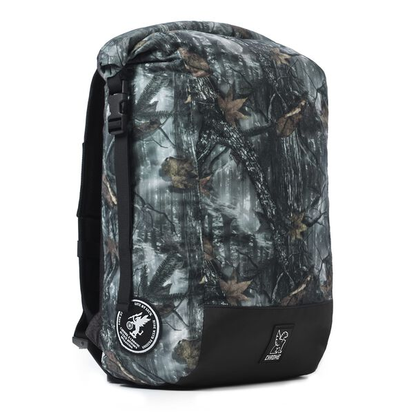 The Cardiel Orp Backpack in Darkwood Camo - medium view.