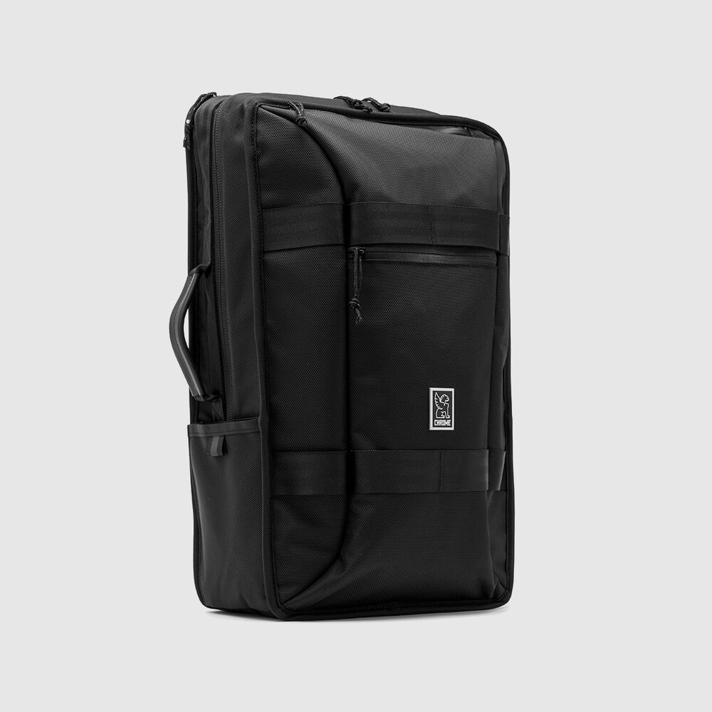 Hightower Transit Backpack in All Black - hi-res view.