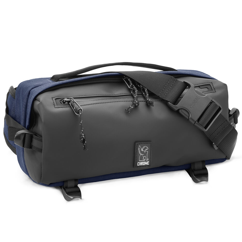 Kovac Sling Bag in Navy - hi-res view.
