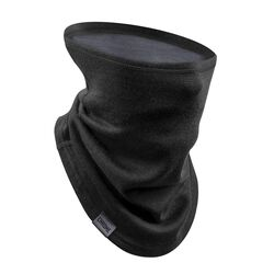 Merino Gaiter in Black / Dark Shadow - small view.