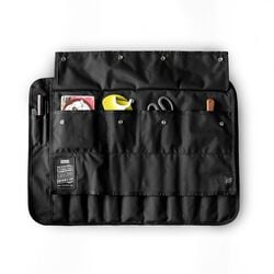 Chef's Knife Roll in All Black - hi-res view.
