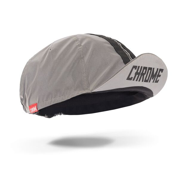 Cycling Cap in Reflective - hi-res view.