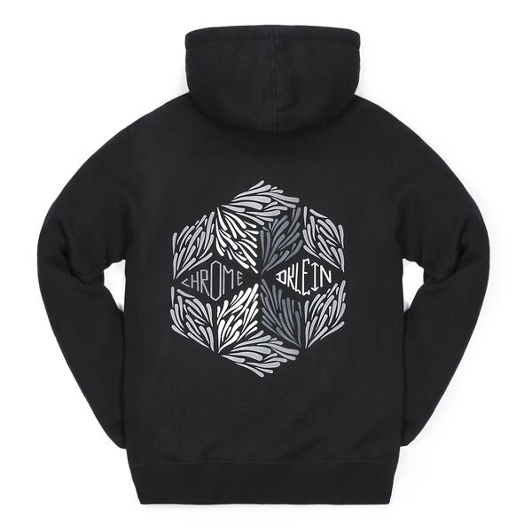 DKlein Graphic Hoodie in Black - medium view.