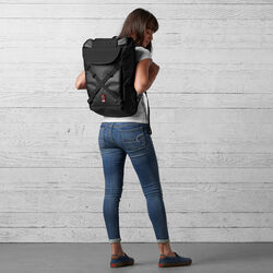 Bravo 2.0 Backpack in Black - wide-hi-res view.