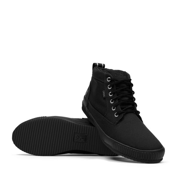 415 Workboot in Black / Black - hi-res view.