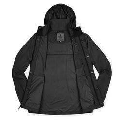 Packable Wind Cobra Jacket in Black - small view.