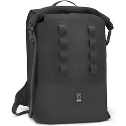Urban Ex Rolltop 28L Backpack in Black - hi-res view.