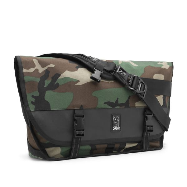 Citizen Messenger Bag in Camo - medium view.