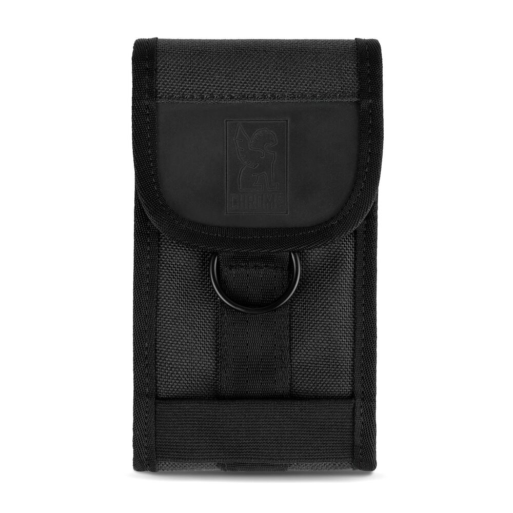 Phone Pouch in Black / Black - large view.