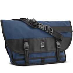 Citizen Messenger Bag in Navy - hi-res view.