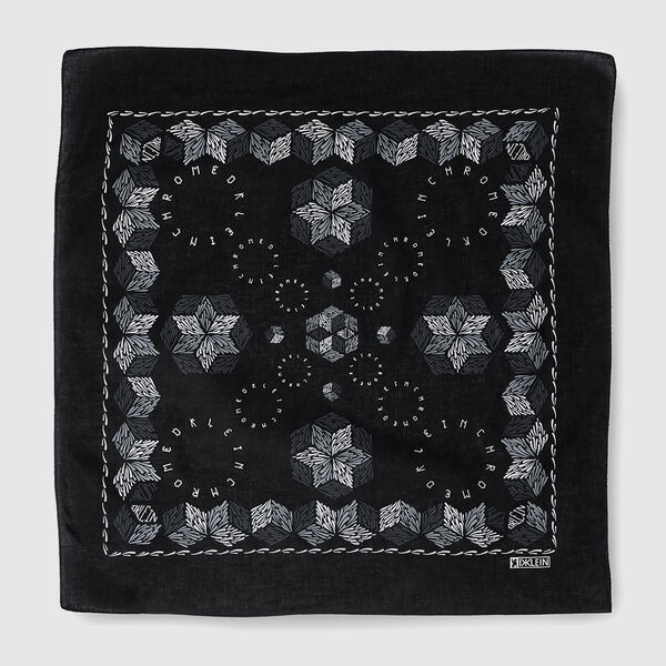 DKlein Bandana in Black - medium view.