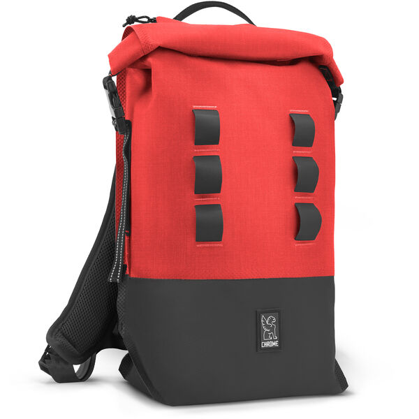 Urban Ex Rolltop 18L Backpack in Red / Black - medium view.