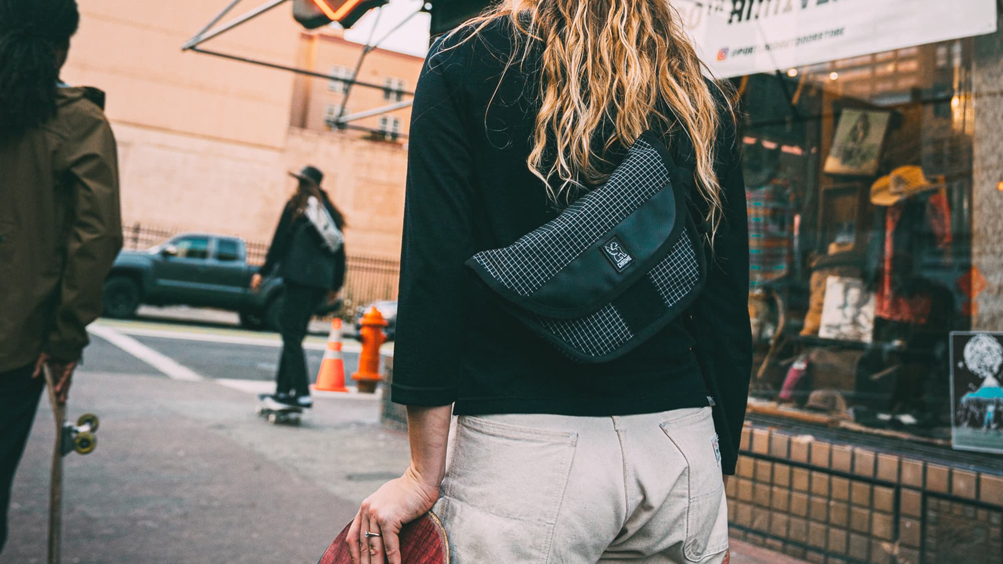 Hip sling is a great sling bag