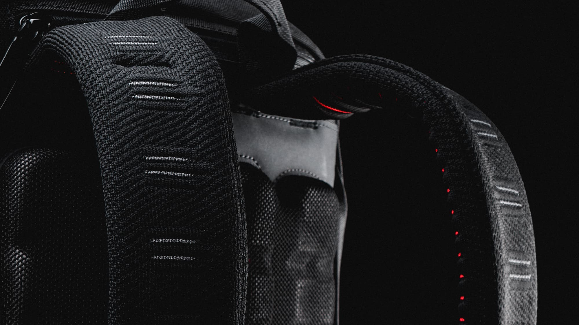 the Avail Backpack from behind