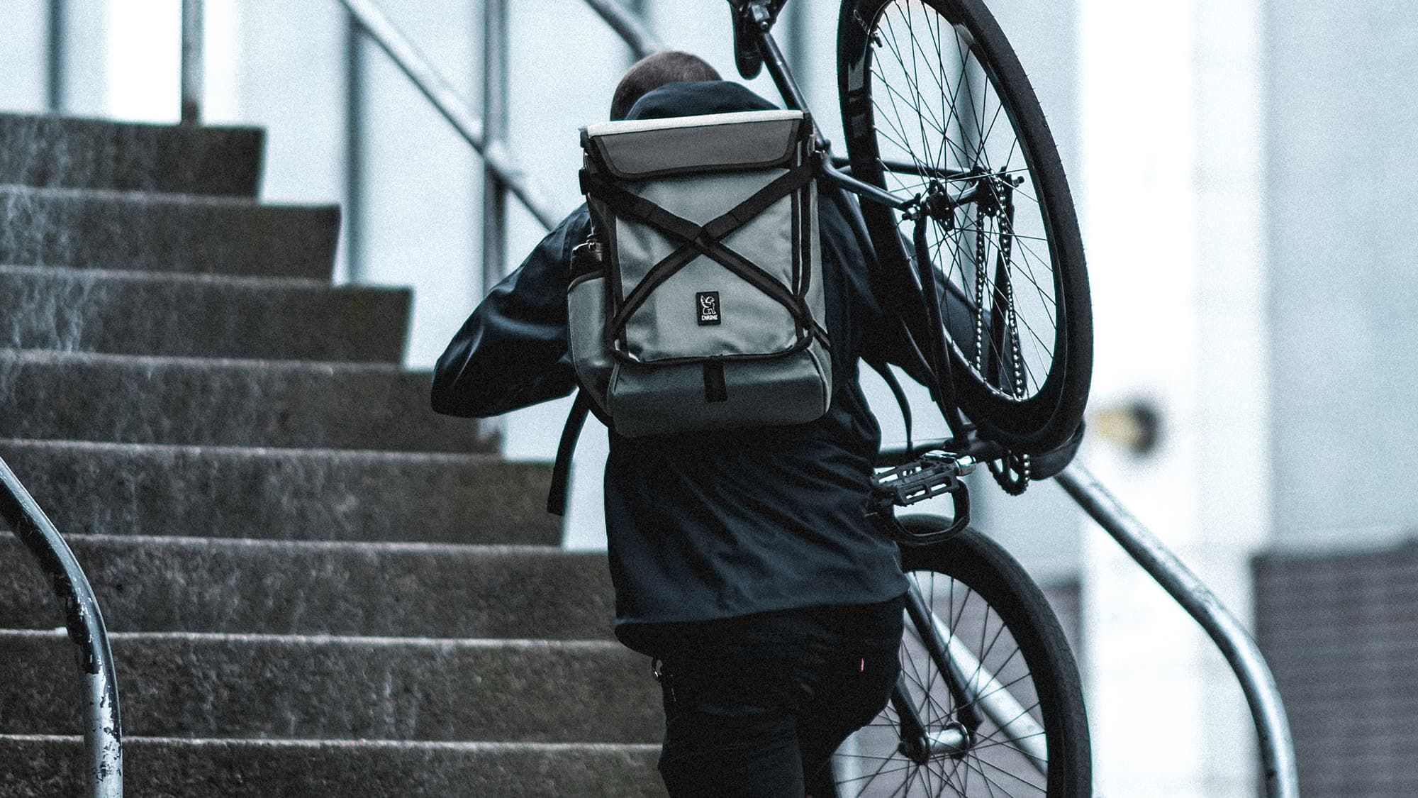 Echo Bravo Backpack, great for skaters
