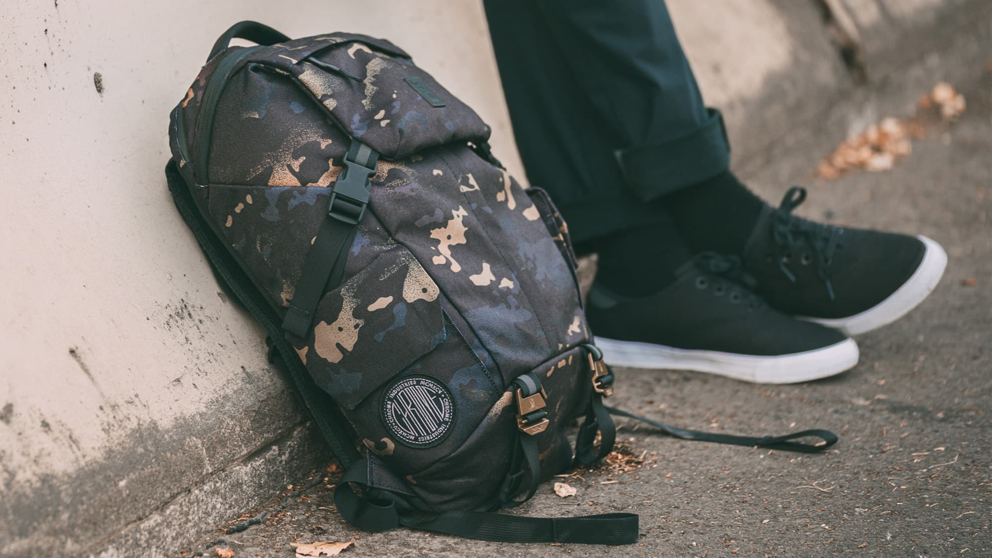 Pike Backpack in the city